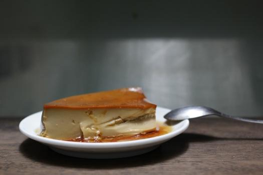 Flan-cafe-piece